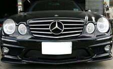 Mercedes Benz W211 E63 AMG Carbon Fiber Front Bumper Lip Splitter 2007-2009