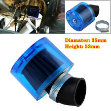 35mm ATV PIT Dirt Bike Splash Proof Plastic Cover Air Filter for 50cc 110cc Blue