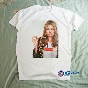Kate Moss Gift Birthday Unisex T-Shirt Size S-3XL Free Shipping