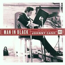 The Very Best of Johnny Cash Man in Black 2 CD 2002 EX