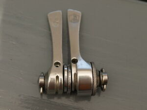 Nouveau Stock Ancien Vintage Campagnolo Super Record Down Tube Shift Levier Set New Old Stock