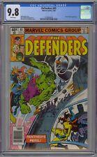 Defenders #85 CGC 9.8 NM/MT Wp Marvel Comics 1980 Dr Strange Hulk Black Panther