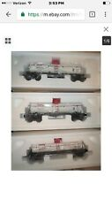 lionel NIB 6 26973 Getty Die Cast Tank Cars 3 Pack -Hard To Find-