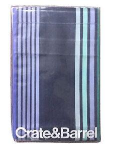 Crate & and Barrel LAGUNA Standard Sham Blue/Purple Cotton,   NIP