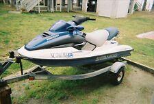 2000 Sea Doo 10' GTX Jet Ski & Trailer - North Carolina