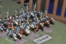 25 MM/Francese Napoleonico-USSARI 12 DIPINTO DA MAC Warren-CAV (14008)