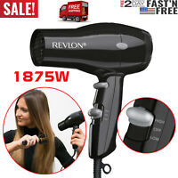 HAIR DRYER Revlon Compact 2 Speed Blower 1875W Powerful Women Blow Styler