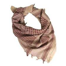 Shemagh Military Army Tactical Arab Neck Scarf Scrim Headscarf Coyote / Brown