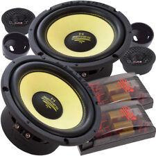Audio System H 165 EVO 16,5cm 2 Wege Kompo Kickbass Lautsprecher Set 165mm