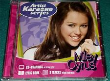 ARTIST KARAOKE SERIES: MILEY CYRUS, CD + G