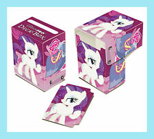 MY LITTLE PONY RARITY DECK BOX New Ultra Pro Card Storage Protector Case MLP