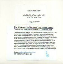 (991C) The Walkmen, In The New Year - DJ CD