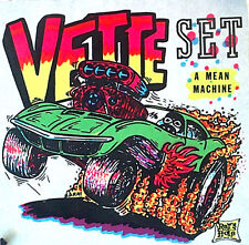 Chevy Corvette T-Shirt Iron-On Big Daddy Roth Genuine Rats Hole Rat Fink Vintage