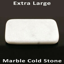 Caliente Masaje de piedra: massagemaster extra grande piedra de mármol frío 16 X 10 X 2 Cm