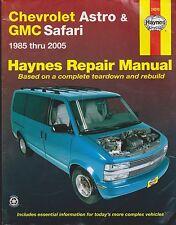 1985-2005 Haynes Chevrolet Astro & GMC Safari Repair Manual
