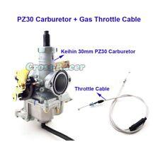 30mm PZ30 Vergaser + Gasdrosselkabel Für 200cc 250cc Pit Dirt Bike ATV