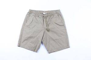 NOS Vintage Gap Streetwear Mens Size Small Flat Front Cotton Chino Shorts Beige