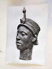 Brass Head LFE Yorubaland Nigeria Postcard