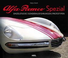 Alfa Romeo Spezial (Allemano Boano Colli Fissore Ghia Vignale)  Buch book