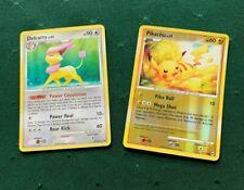 Reverse Holo  Pikachu 71/99 and Holo Delcatty   Pokemon Card 4/127
