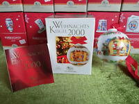 Hutschenreuther Weihnachts-Kugel Porzellan 2000 Kinderpost (meine Pos-Nr. 3)