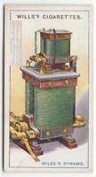 Wilde's Dynamo-Electric Machine Invention 1915  Ad Trade Card
