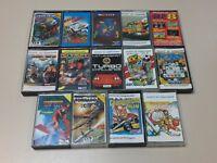 14 pcs Sinclair ZX Spectrum Game Tapes - Color cover - Portuguese Label Versions