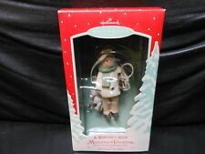 "Hallmark Keepsake ""A Winter's Ride - Memories Of Christmas'"" 2002 Ornament NEW"