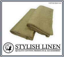 Bath Towels Pieces Set 70%Bamboo 30%Cotton New 4 Piece Sets Towels 600GSM Latte