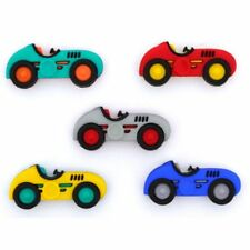 Jesse James Buttons - Dress It Up - SPEED RACERS 10409  Race Cars  Sew Craft