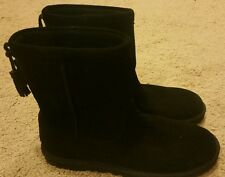 NEW Uggs Womens Mia Boots Style1006427 Black Size 7