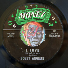HEAR Bobby Angelle 45 I'm Begging/I Love MONEY 123 R&B deep soul R&B blues