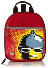 Lego ® Minifigure Firefighter Pvc & Lead-Safe Insulated Vertical Lunch Tote Box
