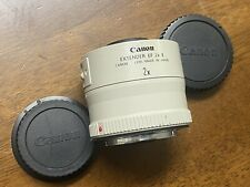 [Excellent+++++] Canon Extender EF 2X II Teleconverter w/ Caps Lens From JAPAN