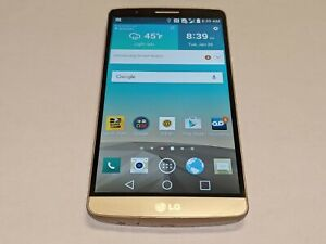 LG G3 LGLS990 Metallic Gold Sprint Wireless 32GB Android Smartphone/Cell Phone
