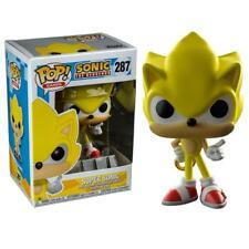 """Exclusive Sonic The Hedgehog-Super Sonic 3.75"""" POP Vinyl Figure FUNKO 287 POP"""