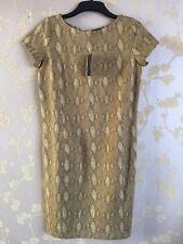 Ralph Lauren Vert Lable Femmes Élastique Robe Taille: M Bnwt