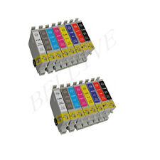 KIT 16 Cartucce Colori Compatibile per EPSON Stylus Photo R800 R1800 Nuovo BL