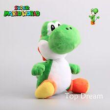 "Super Mario Bros. Green YOSHI Plush Toy Soft Stuffed Animal Doll 13"" Figure Gift"
