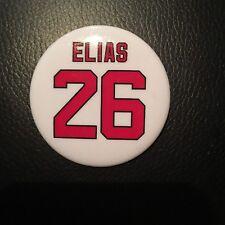 Patrik Elias Retirement Night Button NJ Devils #26 Jersey Banner Raising
