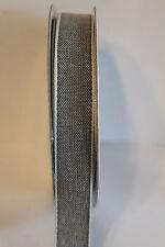 5 meter Band Tweed 15 mm anthrazit