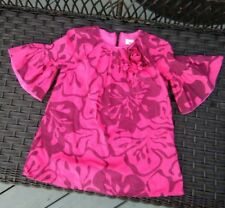 halabaloo dress cotton lined red 2t girls