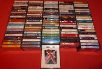 100 ROCK & POP CASSETTE TAPE ALBUMS (COLLECTION/JOB LOT)