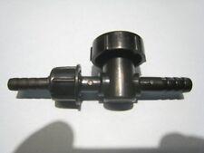 2 Stück PVC Kugelhahn Mini-Hahn Luft, Wasser, Diesel, Benzin 8 mm / 6 mm