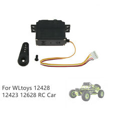 Upgrade Metal Steering Gear Servo For WLTOYS 12428/12423 /12628 1/12 RC Car