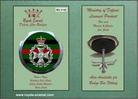 Royale Military Car Grill Badge - THE ROYAL GREEN JACKETS - B2.3142