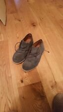 Boys Next Size 3 Desert Boots Blue Suede
