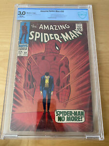 Amazing Spiderman 50 CBCS 3.0, Marvel,1967, First Kingpin Silver Age CENTS copy