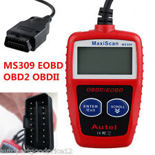 OBD2 OBDII Scanner Diagnostic Code Reader MS309 Auto Car Fault Diagnostic Tool