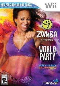 Zumba Fitness World Party - Nintendo  Wii Game